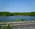車窓から網走湖